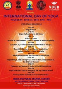 International Yoga Day - Sydney - 2018